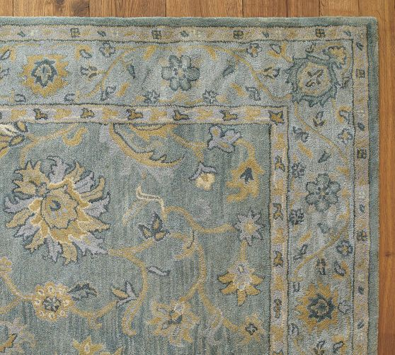 Maren Persian Style Rug Persian Style Rug Pottery Barn Rugs Family Friendly Living Room