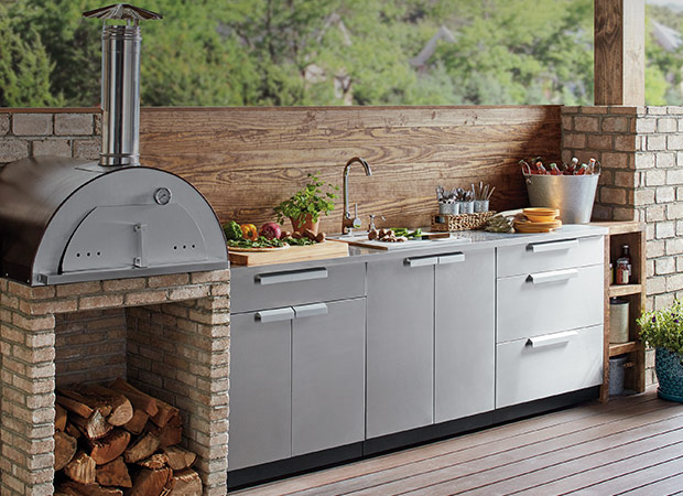 Outdoor Kitchens The Home Depot In 2020 Outdoor Kitchen Cabinets Outdoor Kitchen Appliances Outdoor Kitchen