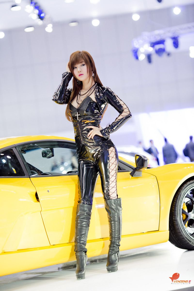 Super Hot Hwang Mi Hee 2013 Seoul Motor Show Asian Model Racing Girl Grid Girls