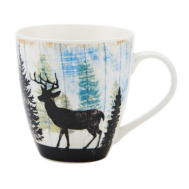 Pfaltzgraff Wildlife Deer Mug, Multicolor