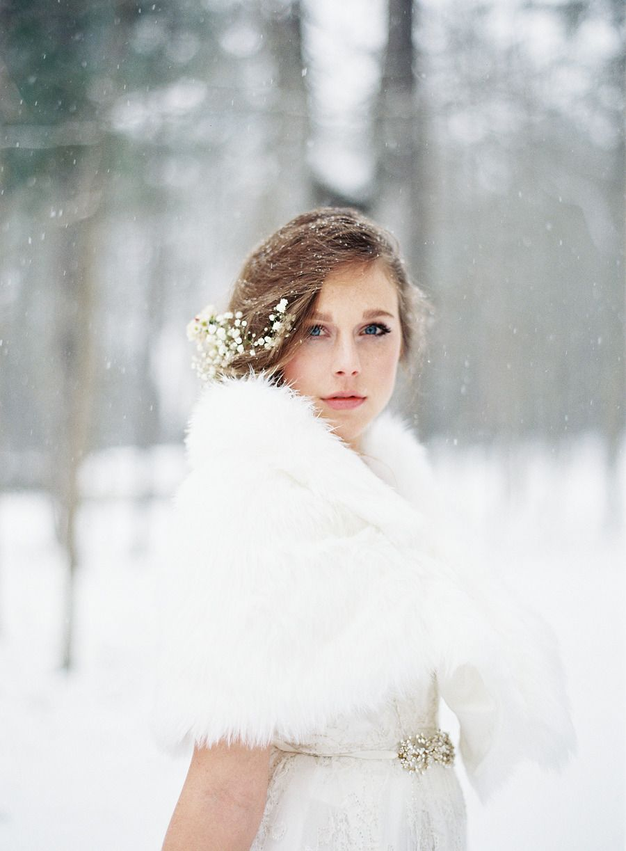 Enchanted Winter Wedding Inspiration | Winter, Winter weddings and ...
