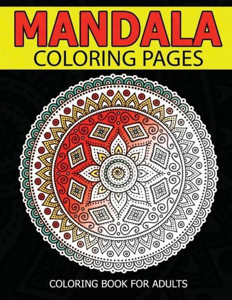 Mandala Coloring Pages Master Adult Book Inspire Creativity Reduce Stress And