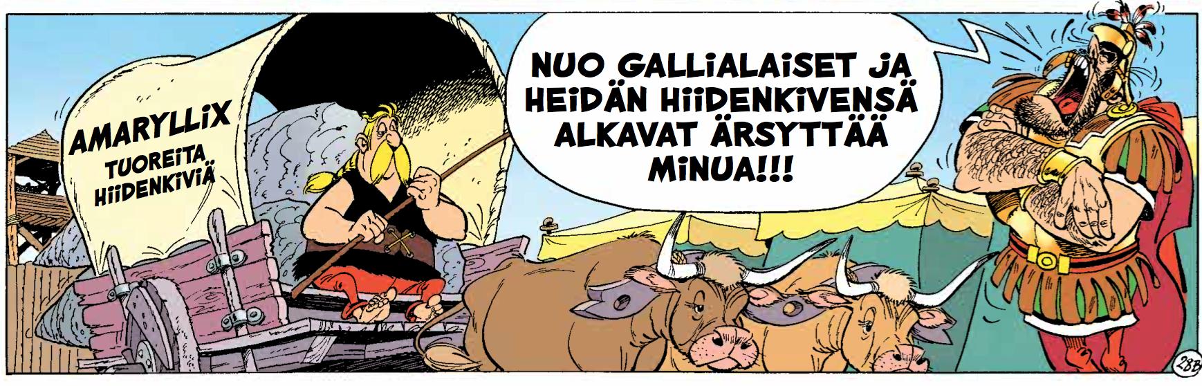 Asterix - Obelix ja kumppanit. #Egmont #sarjakuva #sarjis #Uderzo #Goscinny