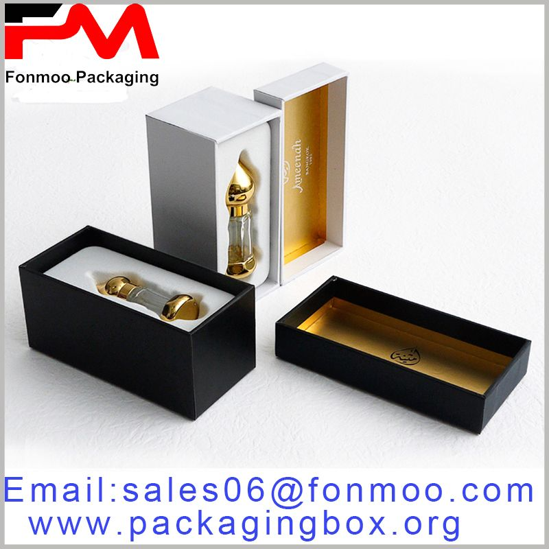 Black Or White Printed Cardboard Perfume Box Packaging Small Cardboard Boxes Suitable For 10ml 30ml Perfume Packaging Perfume Box Perfume Packaging Perfume
