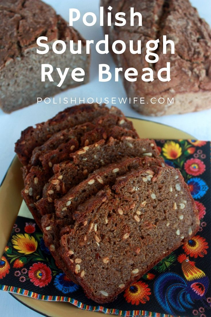 Photo of You'll want to try this authentic Polish Sourdough Rye Bread. You'll have to sta…