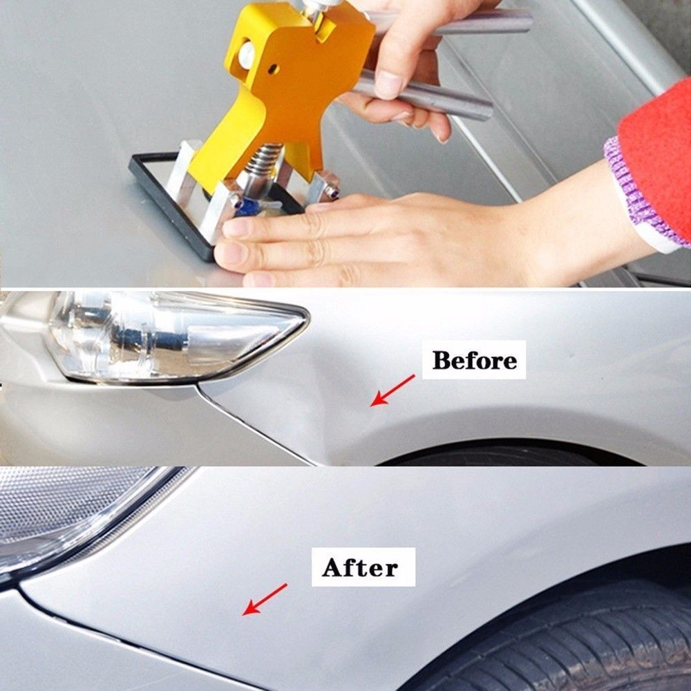 How To Get A Dent Out Of A Car Fender
