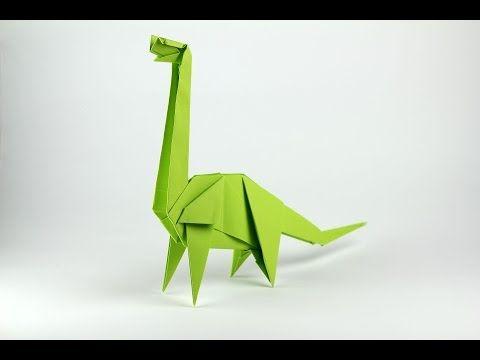 Origami Brachiosaurus Jo Nakashima