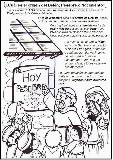 El Rincón de las Melli: ¿Cuál es el origen del pesebre?