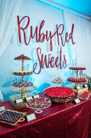 Wizard Red Shoes Pinwheel