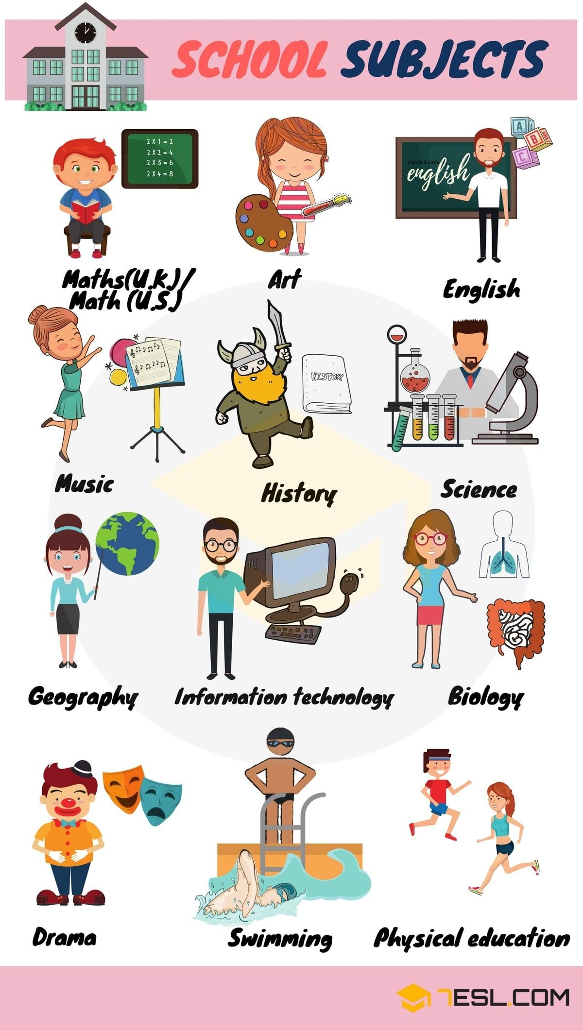 School Vocabulary Words