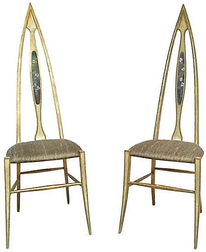 Tremendous Abstract Italian Chairs Set Of 2 Vermilion Designs In Download Free Architecture Designs Embacsunscenecom