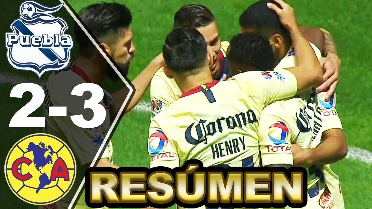 PUEBLA vs AMÉRICA 23 [RESUMEN y GOLES] Liga MX Jornada 10