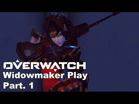 VJ Troll's game video: Overwatch KR Server - Widowmaker Part 1. (오버워치) 1라...