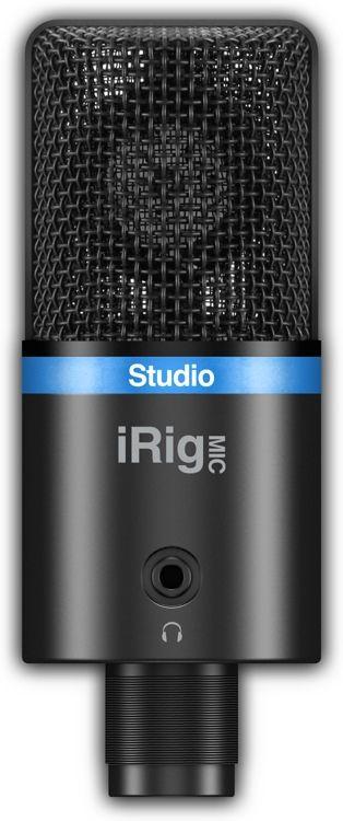 ik multimedia irig mic studio usb condenser microphone microphones usb mac pc multimedia. Black Bedroom Furniture Sets. Home Design Ideas