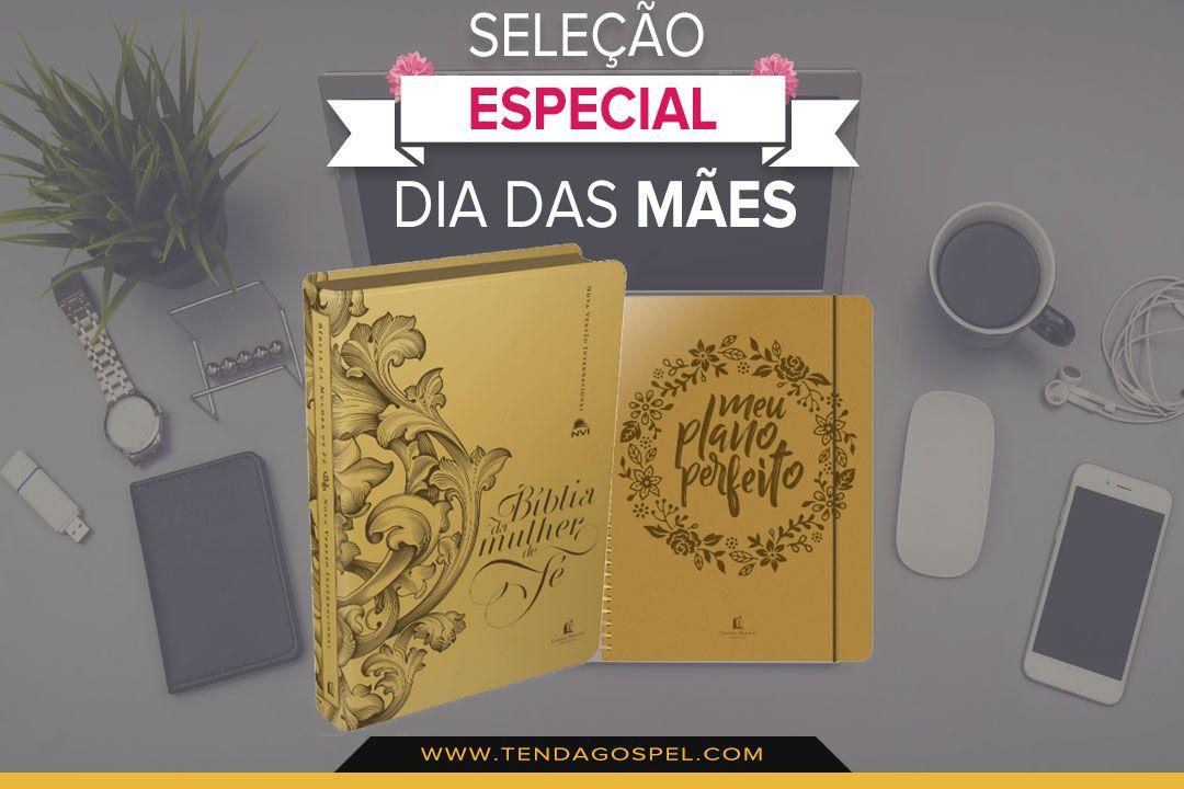 Kit Meu Plano Perfeito Biblia Da Mulher De Fe Capas Luxo