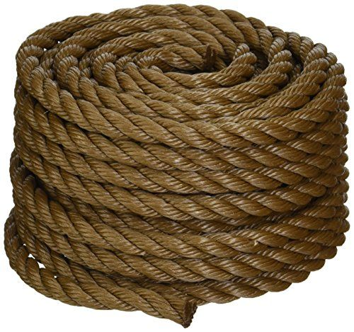 Koch 5011635 Twisted Polypropylene Rope 1 2 By 50 Feet Https Www Amazon Com Dp B002t44uga Ref Cm Sw R Pi Dp X How To Make Rope Best Knots Polypropylene