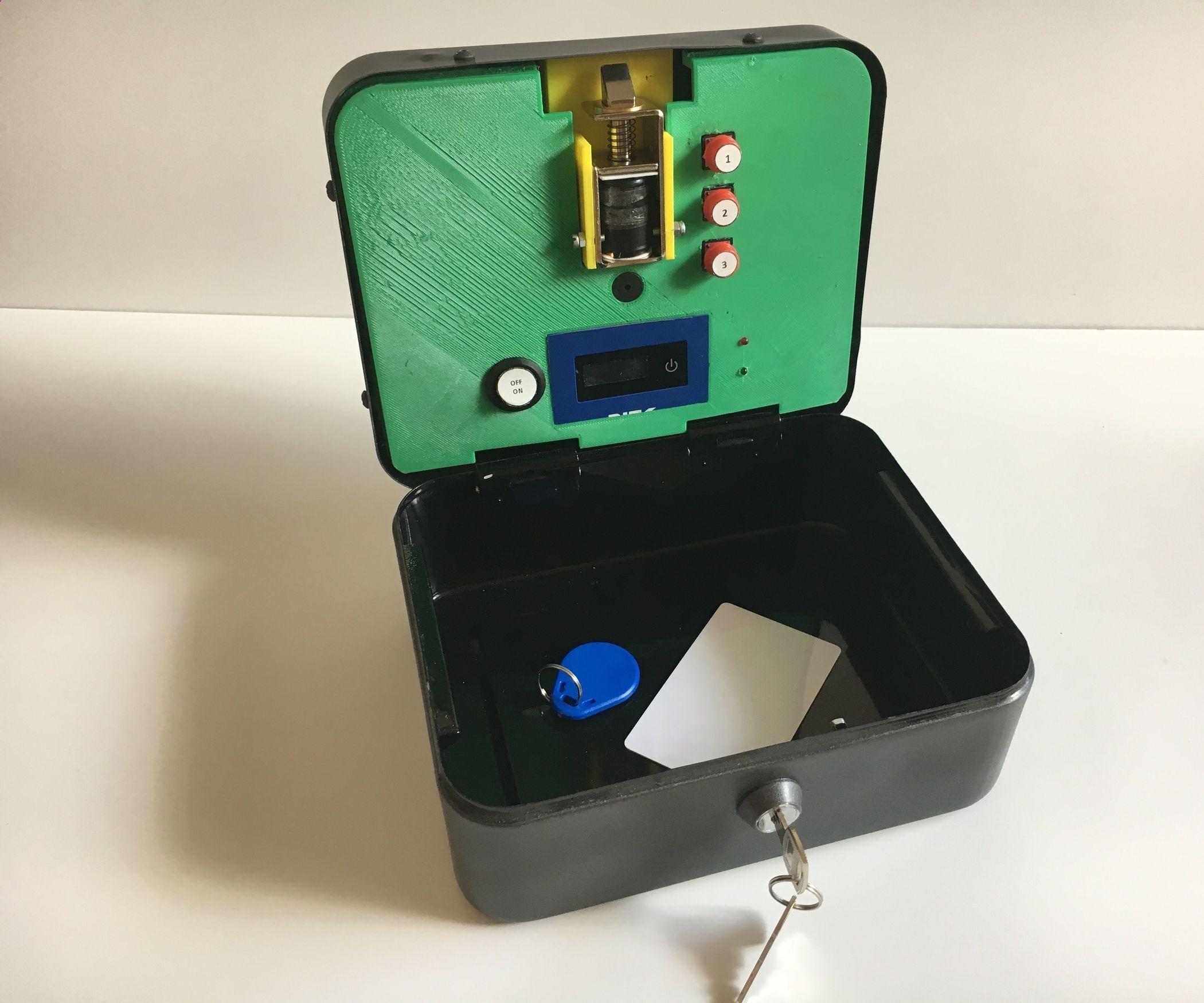 Diy battery reconditioning rfid lockbox save money and