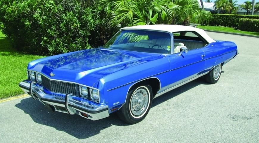 18++ 1973 caprice convertible for sale 4k UHD