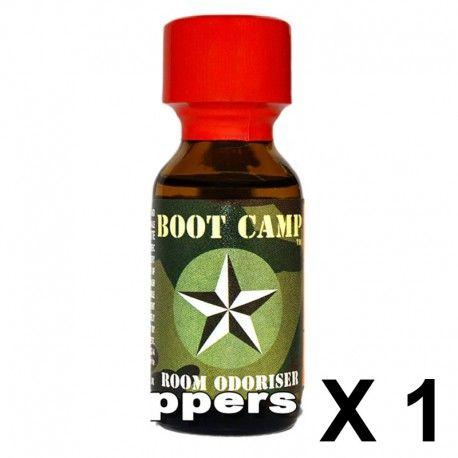 """Poppers """"Boot Camp"""" au parfum captivant."""