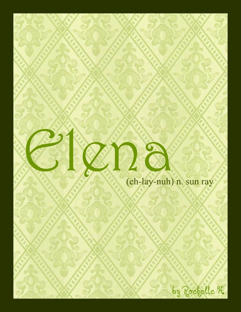 Meaning of the name Elena: character and fate 78