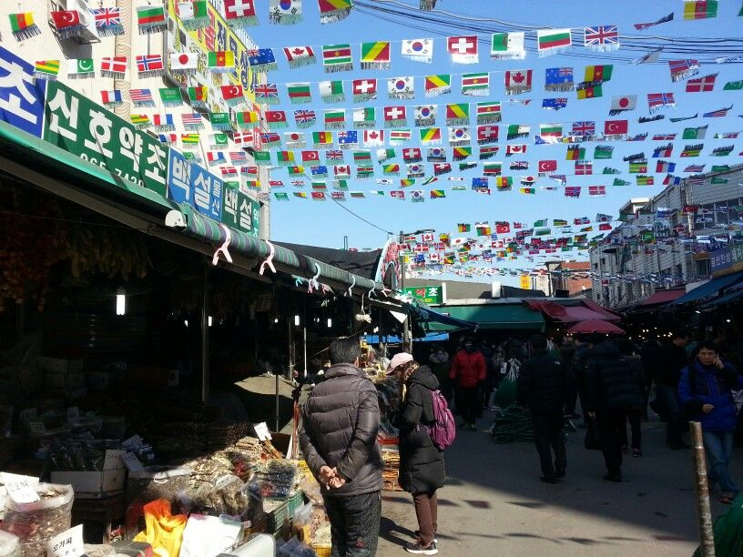 서울 경동시장(京東市場)1 - 약령시(藥令市)건너편 광성상가, 경동신시장- Gyeongdong Market, Seoul, Korea