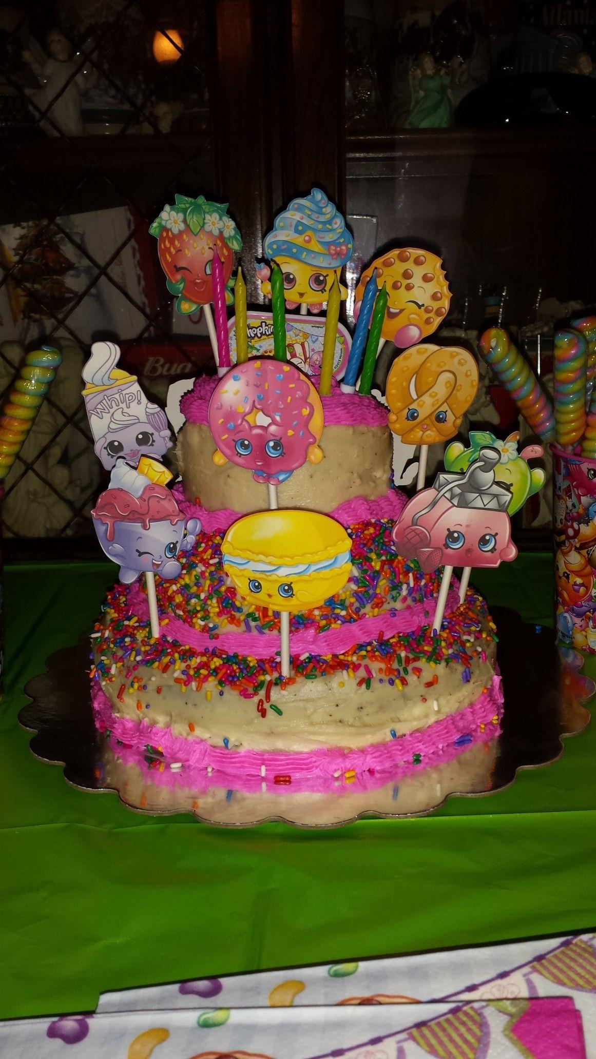 Shopkins Cake Oct 2016 Cora Ann Cakes My Original Work