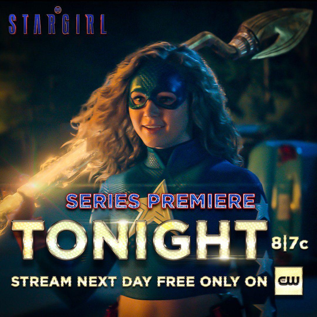 DCs Stargirl on Twitter | Star girl, Dc comics series