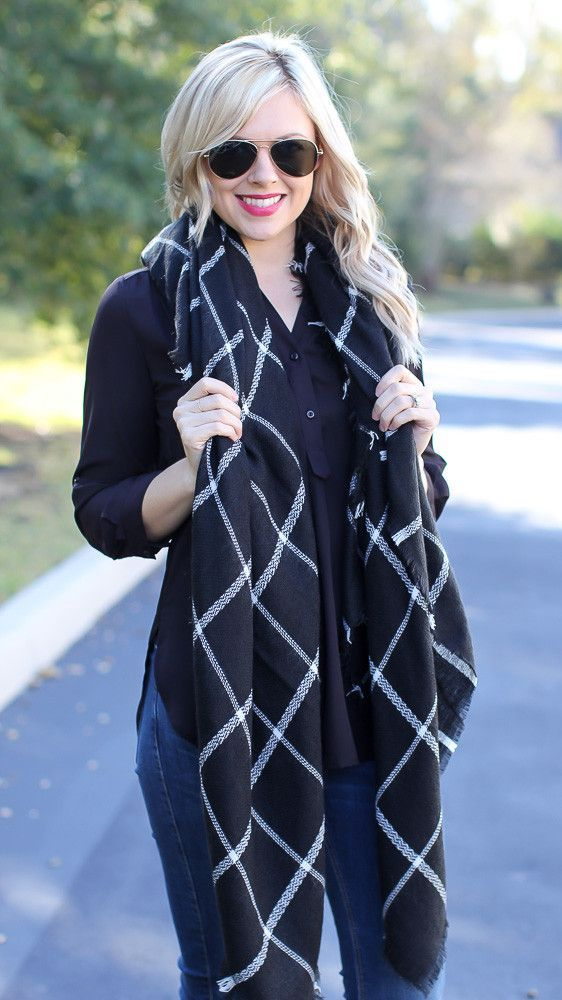 Baby I'm Perfect Blanket Scarf