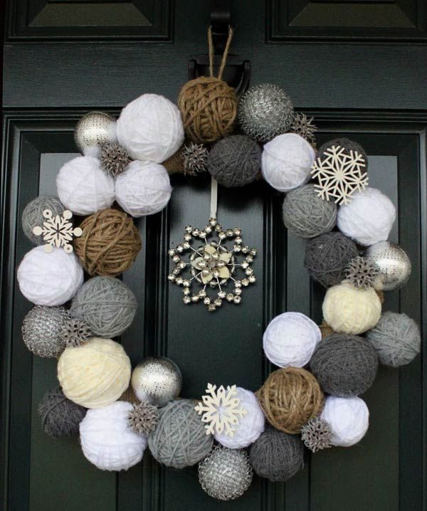 Рождественские и декор своими руками