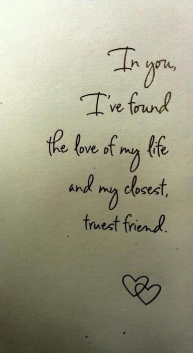 Saw this on FaceBook last night and it so describes my relationship - love letter to my husband