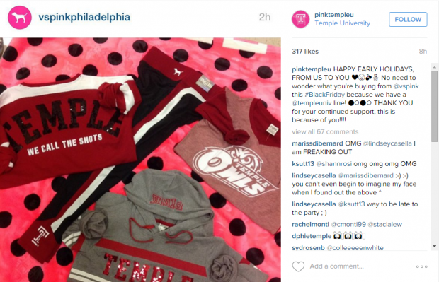 This is Not a Drill: PINK Goes Temple | Her Campus