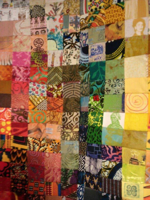 African American Fabric: Mosaic Quilt | African American Fabrics ... : quilt fuse - Adamdwight.com
