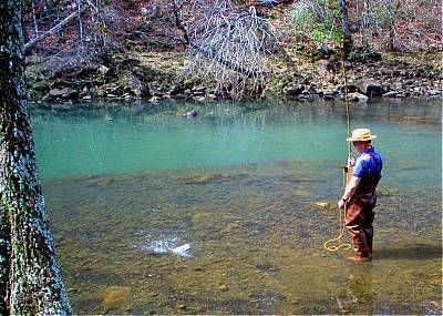 Fly fishing on the little missouri river arkansas get for Fly fishing arkansas