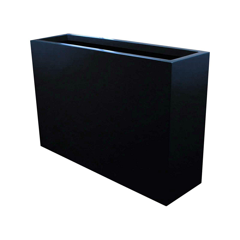 amazoncom   long milano narrow rectangular modern outdoor  - amazoncom   long milano narrow rectangular modern outdoor planter box