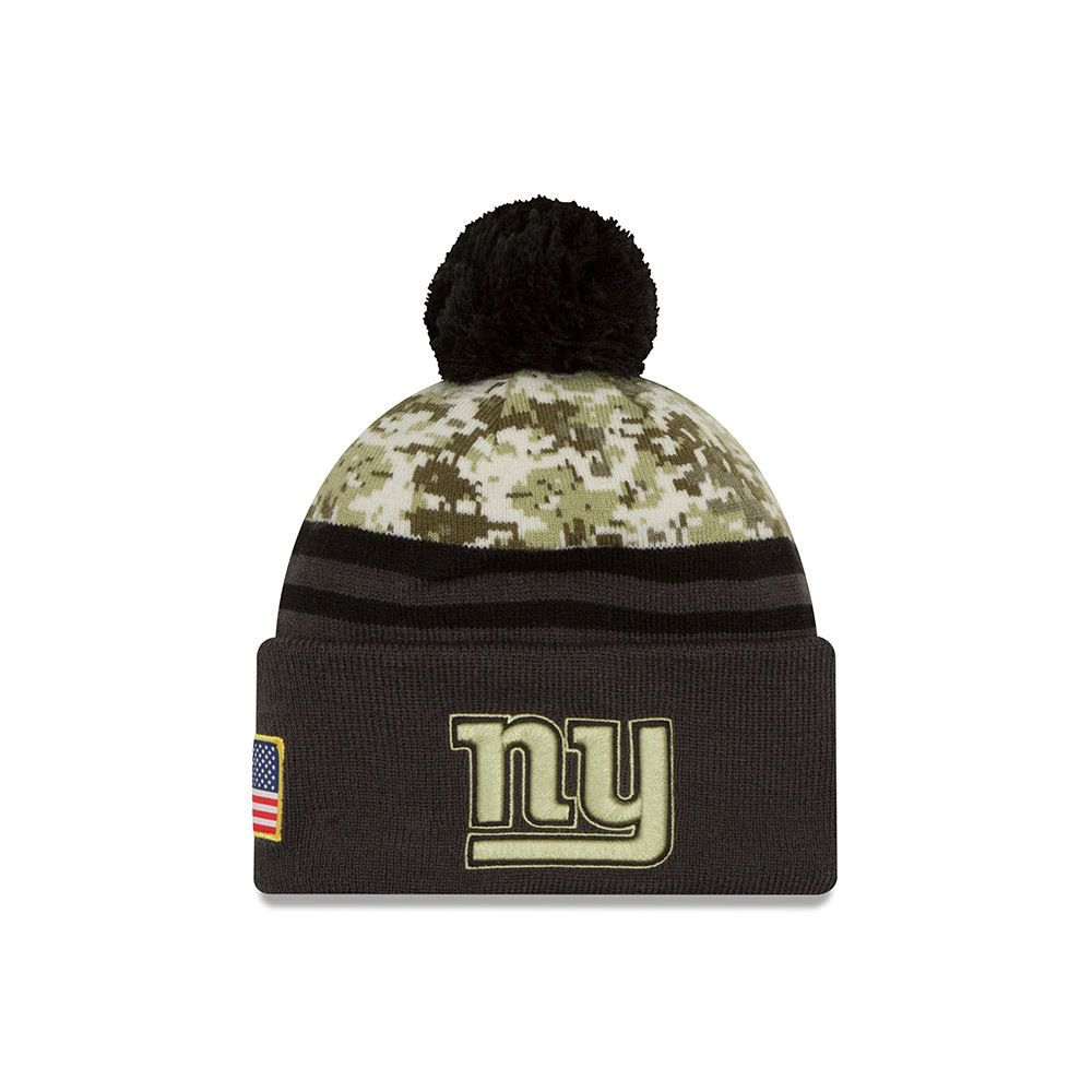 04c929cf120b16 2016 Men's New Era Salute to Service Knit Hat (One Size New York Giants)