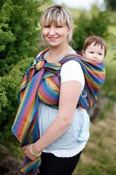 Baby Sling Broken Twill Weave Bamboo Cotton Paradiso Size S