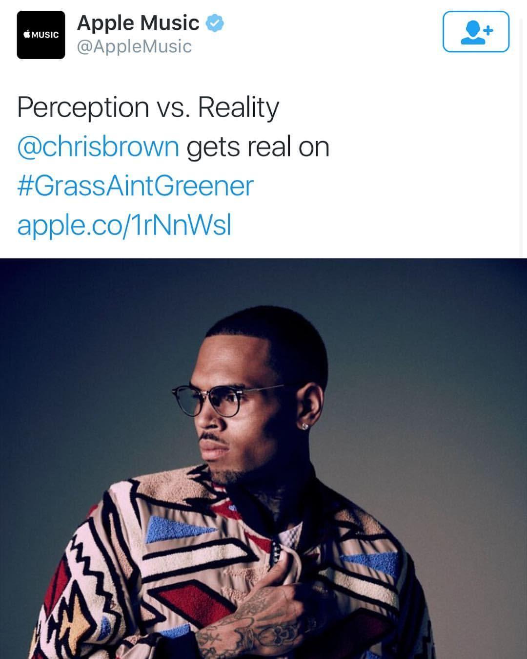 yvetteyou:  Listen to Grass Ain't Greener by Chris Brown on @AppleMusic.https://itun.es/us/lK2ncb?i=1110927678  STREAM and BUY #grassaintgreener @chrisbrownofficial #ChrisBrown