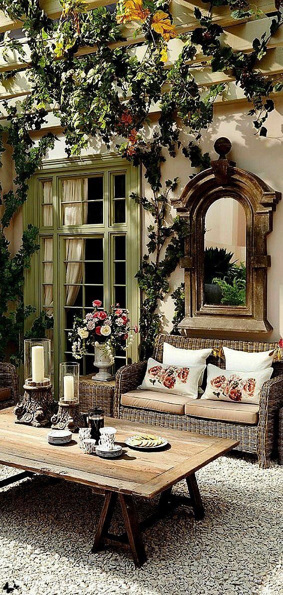 Inspired By...A Fabulous Outdoor Room | Room, Outdoor spaces and ...