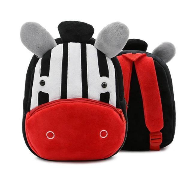 688afe2e8424 New Animal Cartoon Kids Plush Backpack Schoolbags Satchel Infant Mini School  Bag for Children Kindergarten Boys