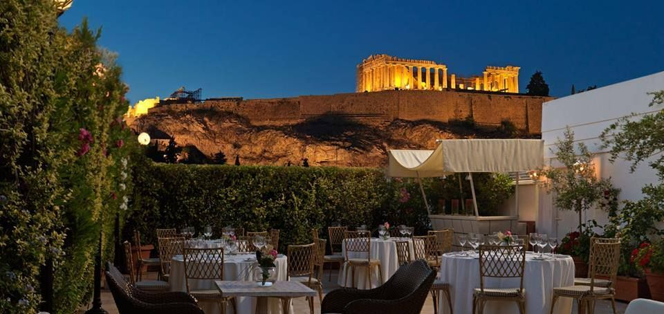 #Acropolis Secret #RoofGarden #Bar #Restaurant  #Divani #Hotels - #Athens #Greece