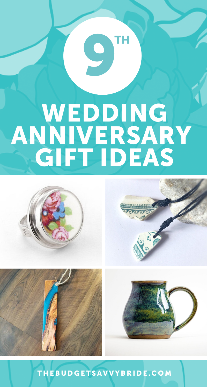 Ninth Wedding Anniversary Gift Ideas Wedding anniversary