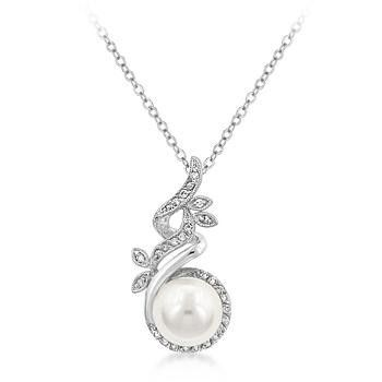 Art Deco Pearl Pendant – Ultra Lovely