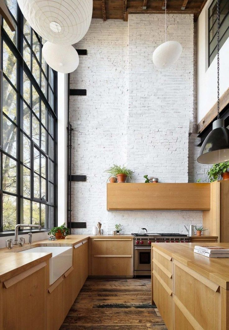 Photo of Casa indipendente a Brooklyn con un'estetica industriale distintiva, cucina 2