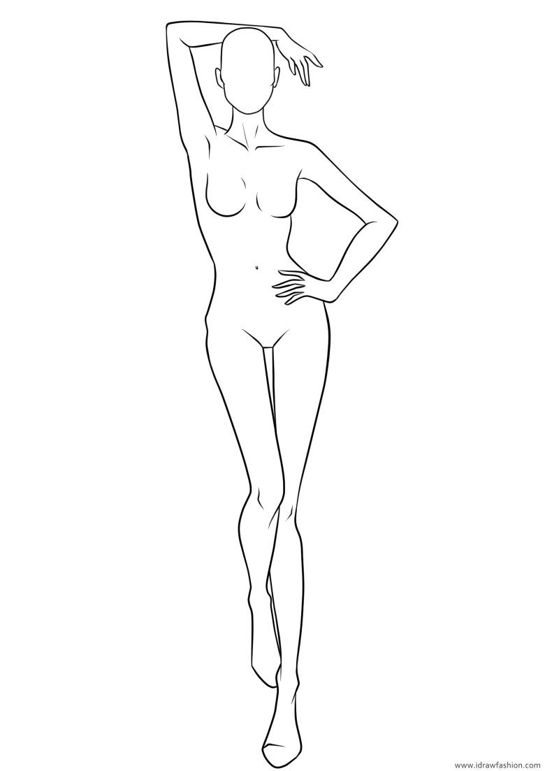 Figure Template 23 – I Draw Fashion