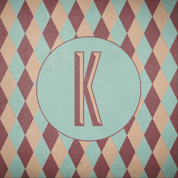 Just Letter K -personal typography work u2022 Me Pinterest - work letter