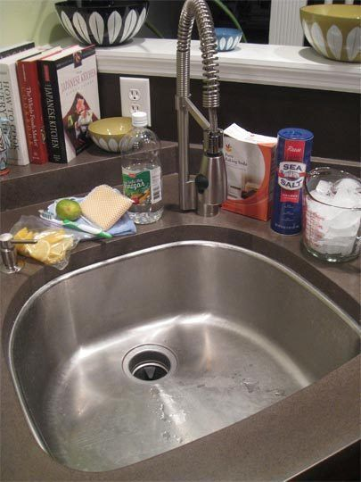 How To Clean Your Kitchen Sink Disposal Diy Cleaning Products Clean Kitchen Sink Cleaning Hacks