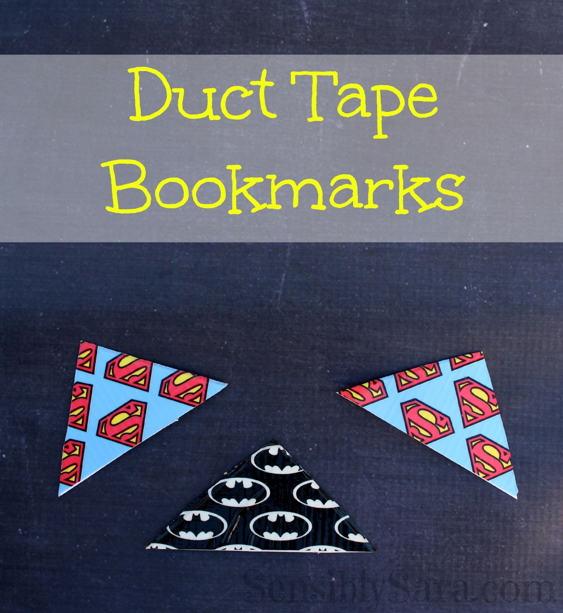 Duct Tape Bookmarks Easy To Make Craft Duct Tape Bookmarks