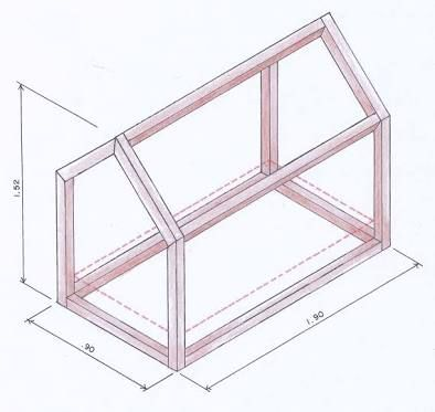 Resultado de imagen para medidas cama montessoriana - Medidas camas infantiles ...