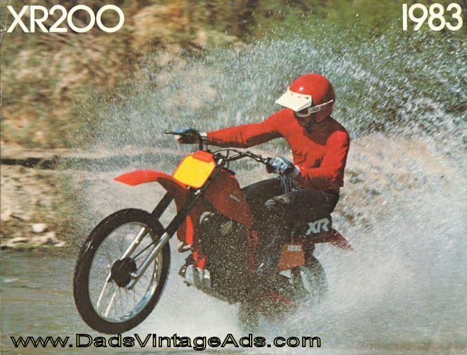 Xr 200 Vintage Motocross Vintage Honda Motorcycles Honda Dirt Bike