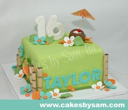 11 year old hawiin party stuff 16th Birthday Party Ideas on